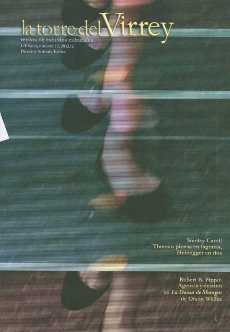Thoreau piensa en lagunas, Heidegger, en ríos, Stanley Cavell