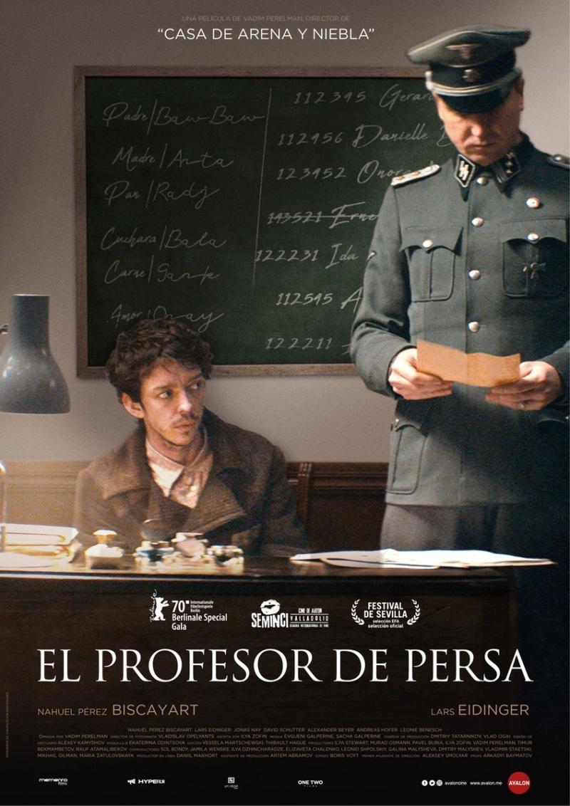 El profesor de Persa, Vadim Perelman